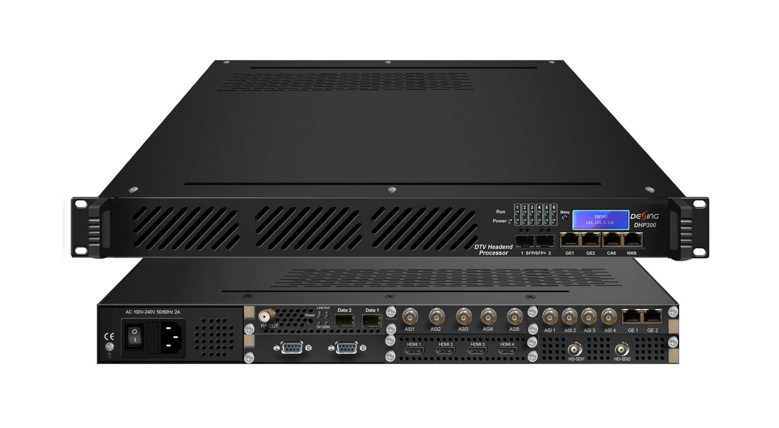 DHP300 DTV head-end processor